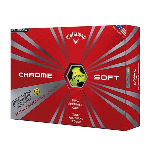golfbutikken callaway chrome soft travis golfballer
