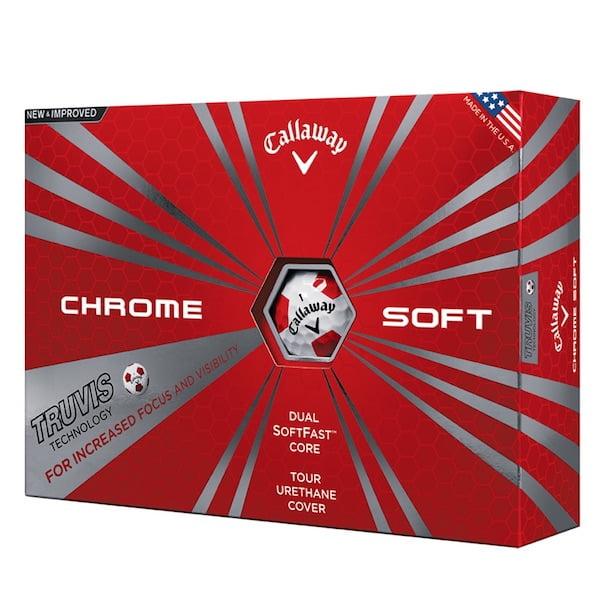 golfbutikken callaway chrome soft truvis golfballer