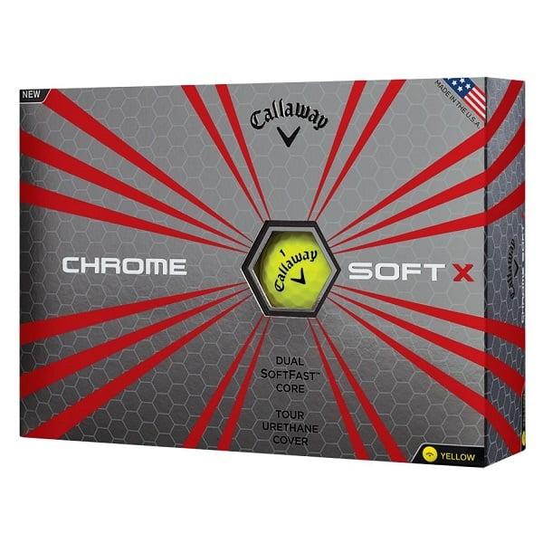 golfbutikken callaway chrome soft x golfballer baller
