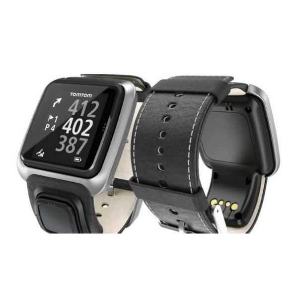GPS golf klokke med premium leather fra TomTom