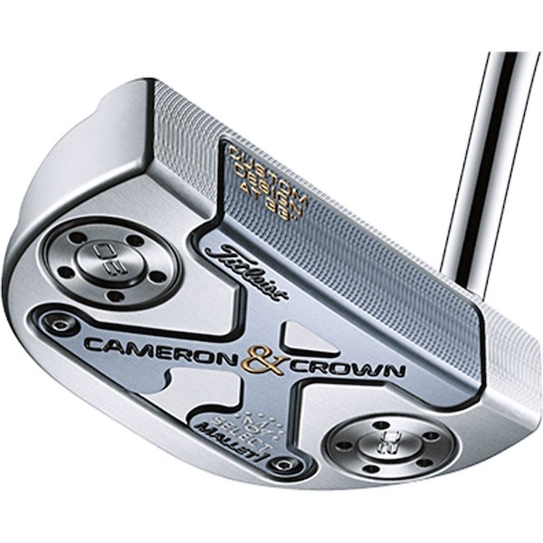 golfbutikken scotty cameron crown mallet putter