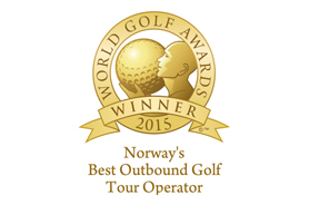 Bilde av prisen Norways best outbound golf tour operator