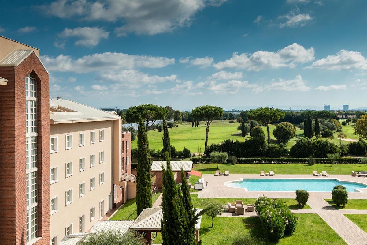 Hotel Sheraton Golf Roma Golfbutikken hotell golfbane