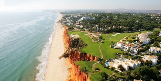 Vale Do Lobo Golf Course Ocean Royal Algarve Golfbutikken Golfbane