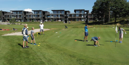 golfbutikken juniorcamp kragerø golf resort