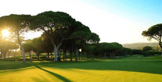Vilamoura Golfbane golf Algarve Golfbutikken