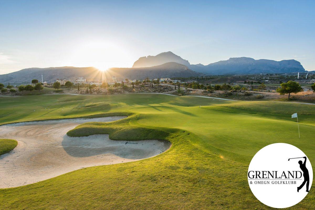 golfbutikken costa blanca melia villaitana