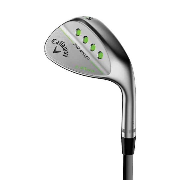 Callaway MD3 Milled Chrome, Dame