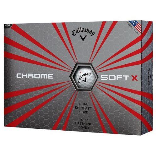Callaway Chrome Soft X, 3 dusin/36 baller