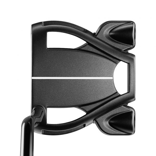 golfbutikken taylormade spider tour double bend putter black