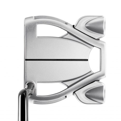 golfbutikken taylormade spider tour double bend putter silver
