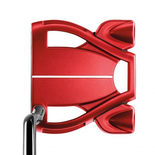 golfbutikken taylormade spider tour double bend putter red