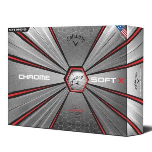 golfbutikken callaway chrome soft x golfball