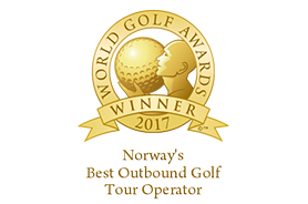 Bilde av prisen Norways best outbound golf tour operator 2017