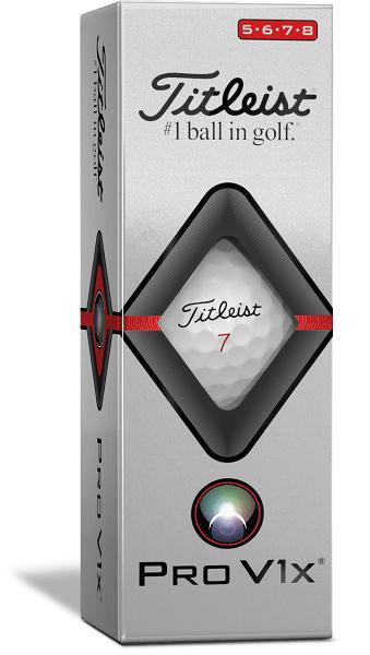 golfbutikken 2019 titleist golfball pro v1x 19