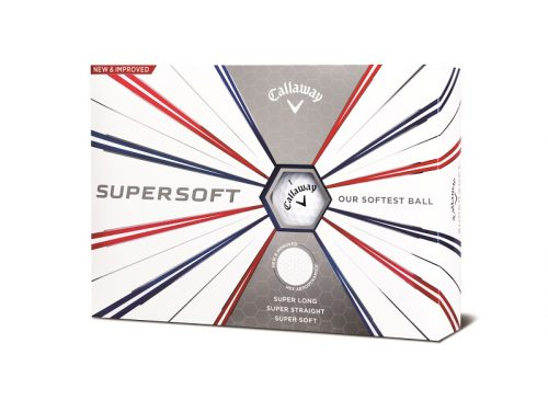 golfbutikken 2019 callaway supersoft 2019 golfball white