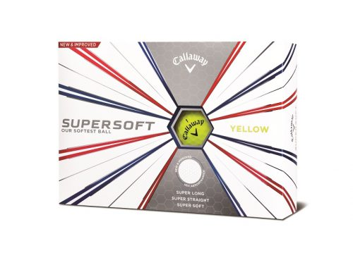 golfbutikken 2019 callaway supersoft golfball 19 yellow