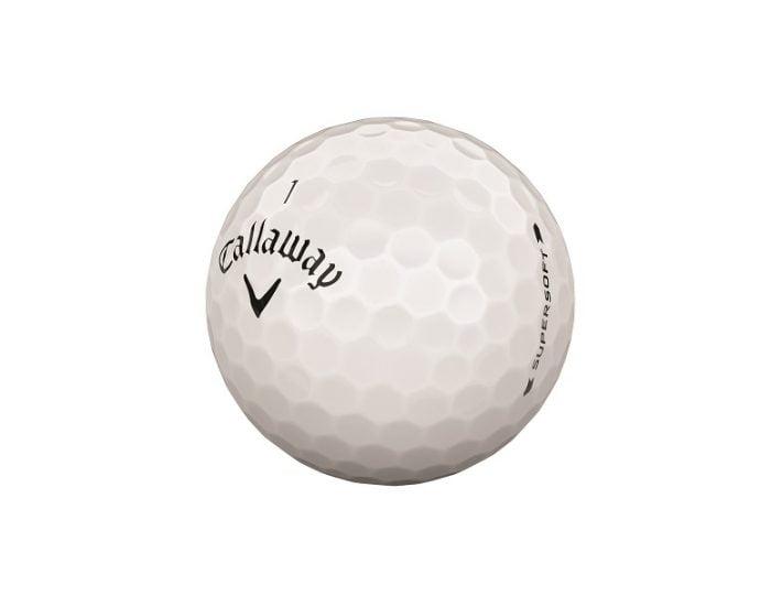golfbutikken 2019 golfball callaway supersoft 2019 white